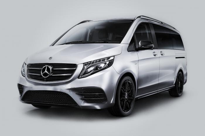 Alta gama Mercedes V