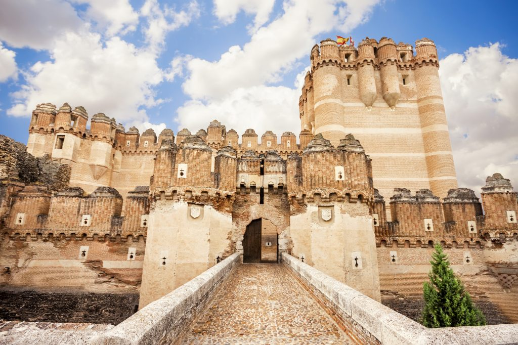 Экскурсия по замкам Мадрида