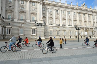 Экскурсия в Мадриде на велосипедах