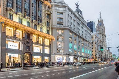 Transit tour in Madrid