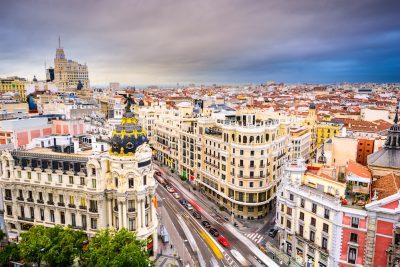 Обзорно + пешеходная по Мадриду
