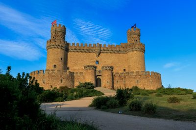 excursion to the castles and palaces of Madrid