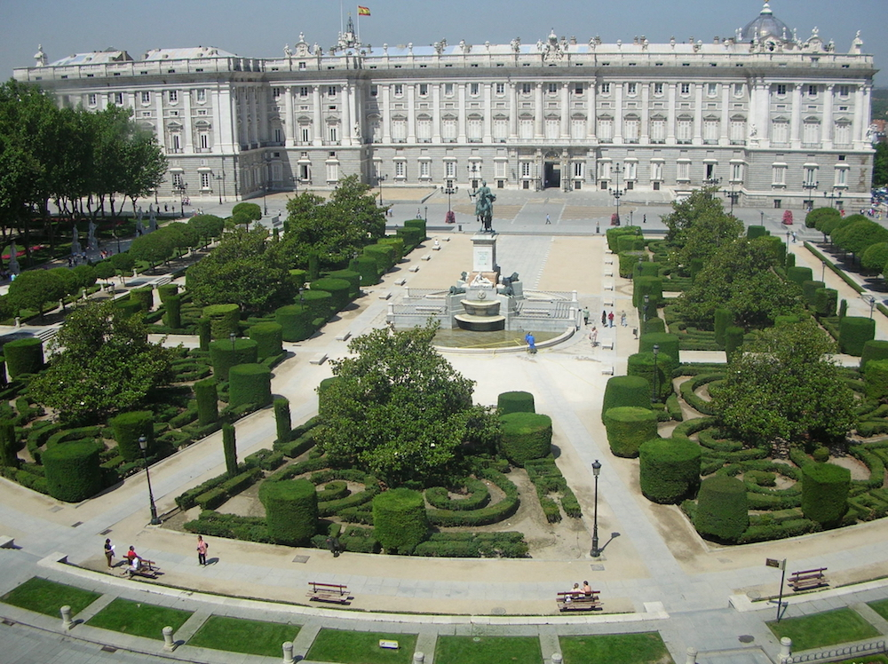 Royalty Palace - Madrid - Spain