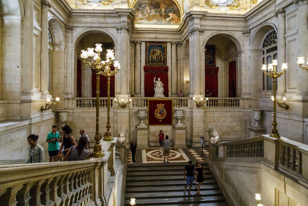 Гид в Королевский дворец
